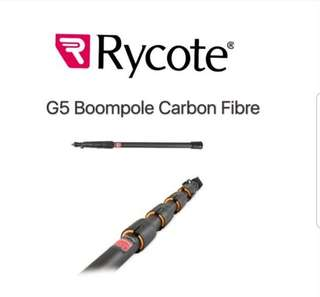 🚚 Rycote Boompole G5 with internal coil