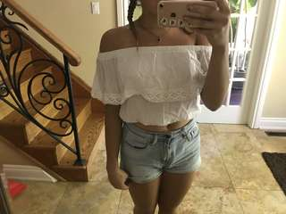 Off the shoulder cute top