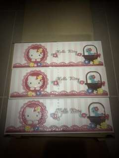 Hello Kitty 3D Toilet Wall Tile (Limited Edition)