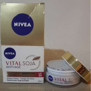 Nivea Vital Soy Anti Aging Day Cream SPF 30 (From Germany)