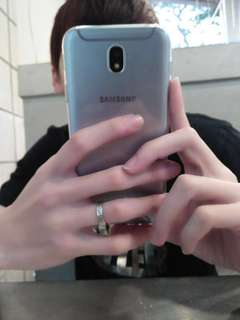 Samsung J7 Pro (Silver Blue)