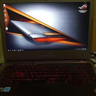 Asus Rog g752vt for swap to gaming desktop