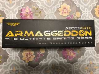 Armaggeddon Artic Gaming Mousepad AG17M