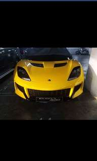 Lotus Evora 2016mdl, color yellow,, 1006klms only