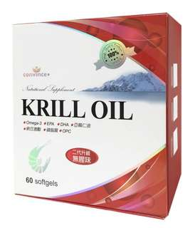 🚚 南極磷蝦油軟膠囊 Krill Oil