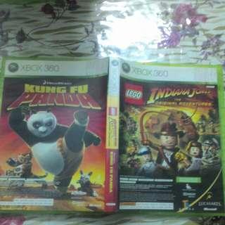 Xbox 360 Game LEGO Indiana Jones + Kung Fu Panda