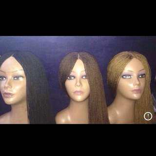 Lace Front Micro Braided Wigs