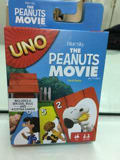 Peanuts Movie Uno Cards Set