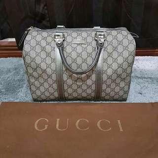 Gucci boston metallic