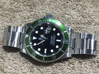 勞力士 Rolex Submariner Green 16610 LV 綠圈黑面 50週年 gmt daytona