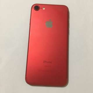 98%new iPhone7 128gb (Product) Red 紅色 working perfect iPhone ( 7 103)