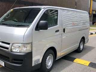 Toyota hiace Euro 4