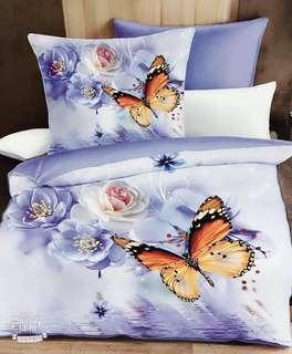 Korean 5D bedsheet 4 in 1