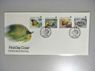 Singapore FDC Fishes