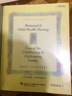 Maternal and Child Nursing(Adele Pillitteri)