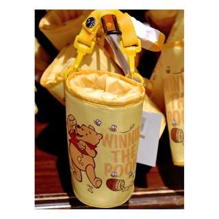 LAST PIECE READY STOCK Tokyo Disneyland Disneysea Disney Resort Winnie The Pooh Water Bottle Tumbler Cooler Holder / Bag