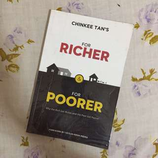 For Richer & For Poorer - Chinkee Tan - Signed Copy