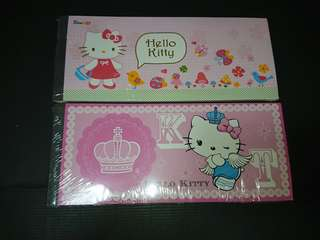 Hello Kitty Note Pad