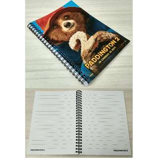 PADDINGTON 2 MOVIE: NOTEBOOK x 1