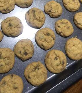 BESTSELLER Chocolate Chip Cookies (FAMOUS AMOS ALIKE TEXTURE)