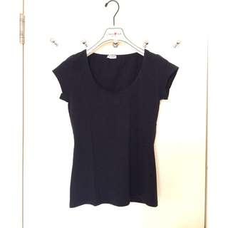 Dolce & Gabbana   高彈性 針織 T-SHIRT  Ladies Knitted T-shirt