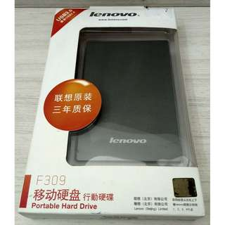 Lenovo F309 External HDD 1TB Grey (F309) USB 3.0 x 1