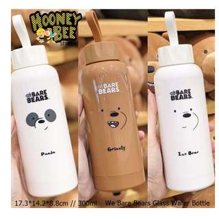 Japan Quality Miniso - Botol Minum We Bare Bears Water Bottle