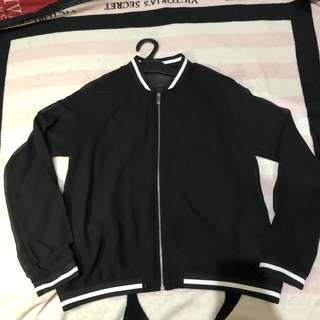 Zara Transparant Bomber Jacket