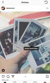 Jasa Cetak Foto Polaroid Asli
