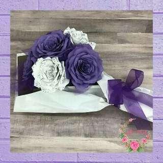 Paper Flower Bouquet 🌸 Buket Bunga