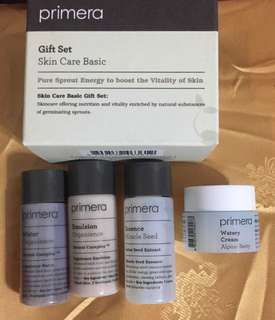 [Free Shipping] Primera Skin Care Basic Gift Set [With Miracle Seed Essence and Alpine Berry Watery Cream]