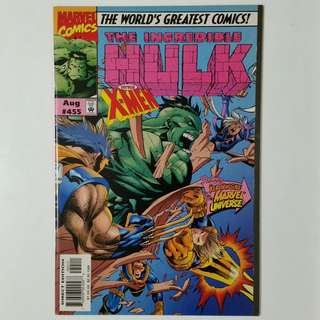 Incredible Hulk No. 455 comic