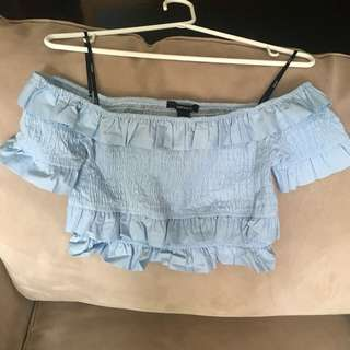 F21 brand new Off the shoulder top (S)