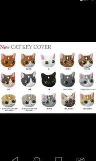 日本Field Point 貓貓鎖匙套 吊飾 Cats/Pet Key Cover Key Chain