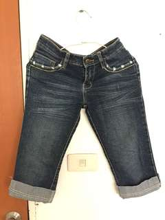 🚚 七分/牛仔褲