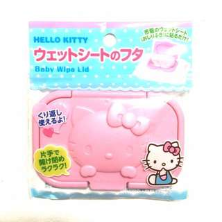 [A1] (2) Japan Sanrio Hello Kitty Wet Tissue Cover Lid