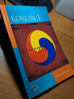 LK9001 Korean 1 Textbook
