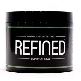 [IN-STOCK] REFINED Superior Matte Hair Clay (Strong Hold)