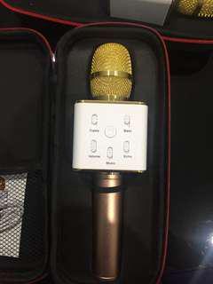 Microphone Karaoke Player wireless Bluetooth