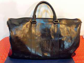 HIROFU 義大利真皮 旅行袋