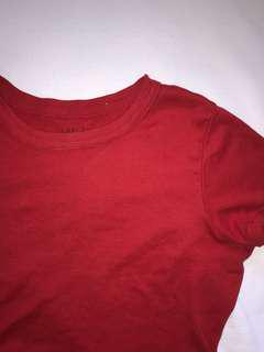 Brandy Melville Red Crop Top