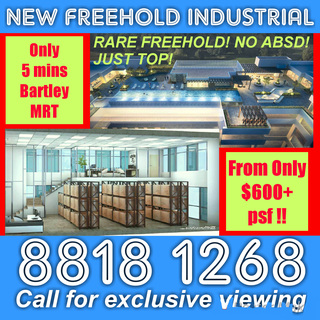 RARE FREEHOLD Brand New Commercial Units for SALE !! NO ABSD !! FINAL 10 UNITS !!