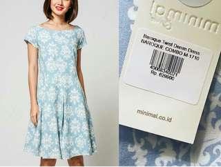 Minimal Twist Baroque Dress