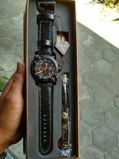 Jam tangan TETONIS LEATHER ORIGINAL