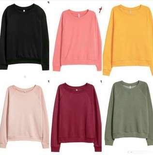 H&M Unisex Crewneck Sweatshirt