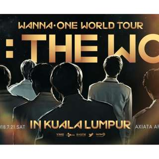 WANNA ONE TICKET