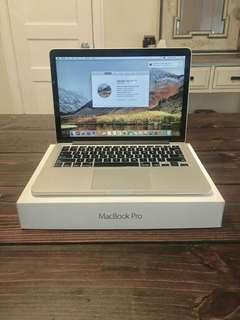 Macbook pro retina  i7 16 gb 512 gb ssd