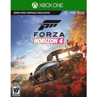 Xbox One Forza Horizon 4 Standard Preorder