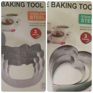 Cake baking tool 3 pcs