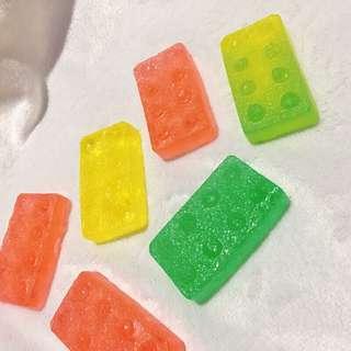 童年的樂高🦖積木彩色琥珀糖🍁